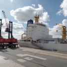 Swedish Reefer in Hamburg